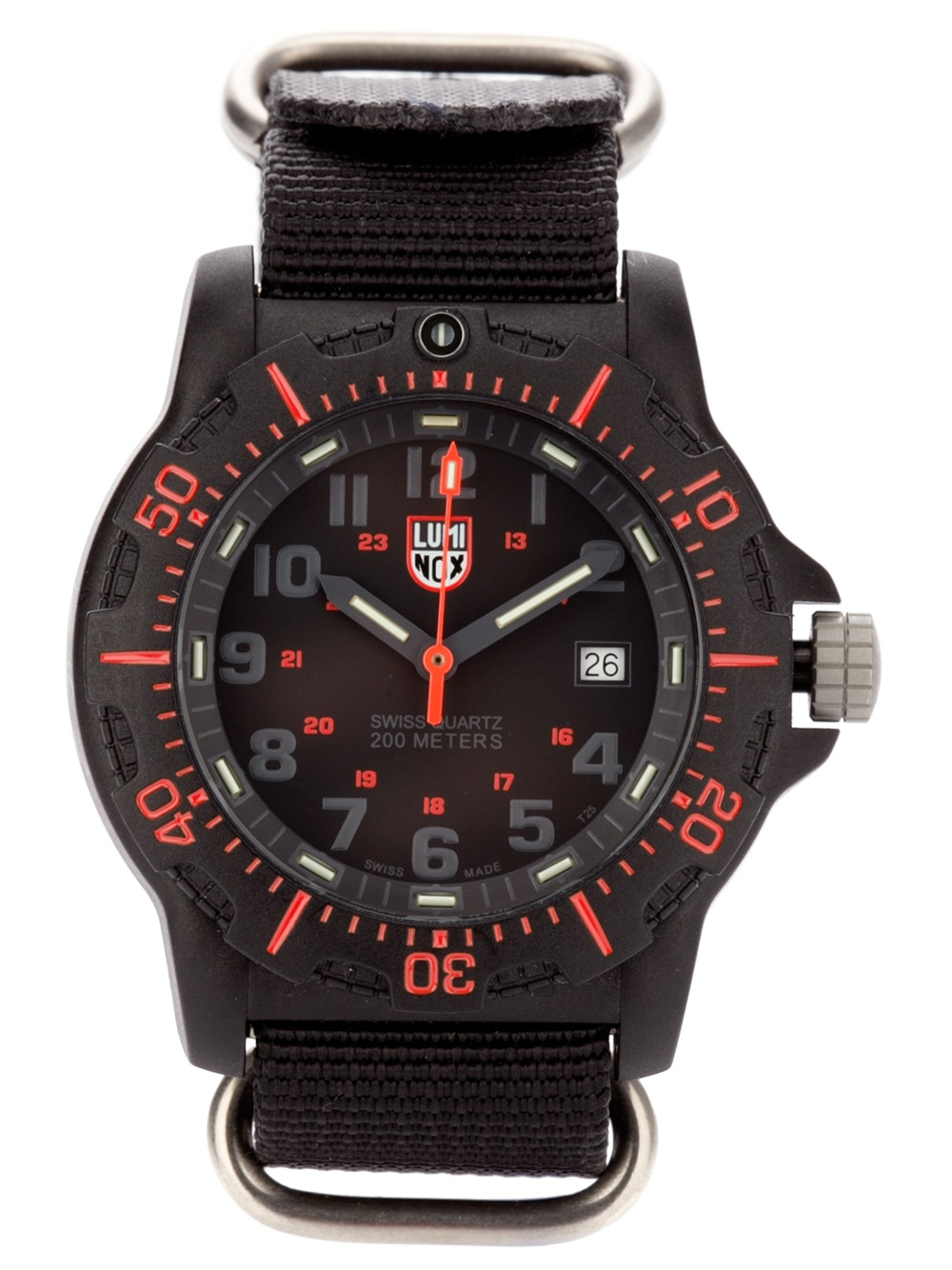 Lyst luminox navy seal watch in black for men for Luminox watches
