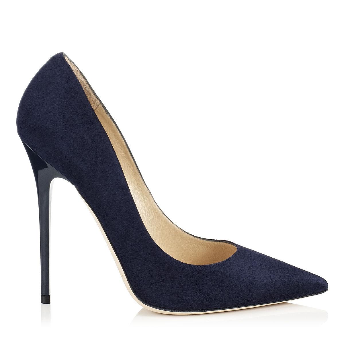 Dark Blue Womens Dress Shoes