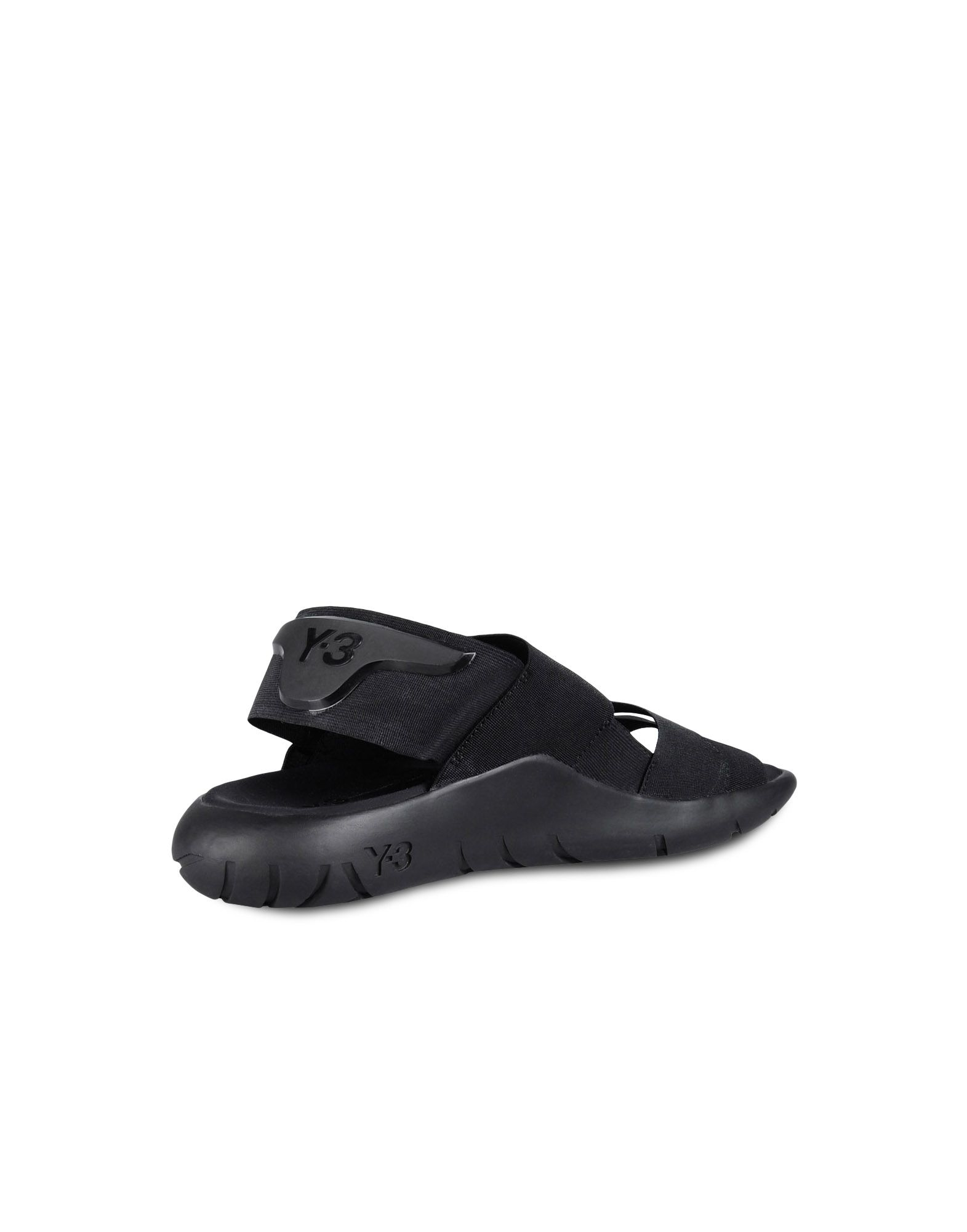 aa48b9fd6931f Y-3 Qasa Sandals in Black for Men - Lyst
