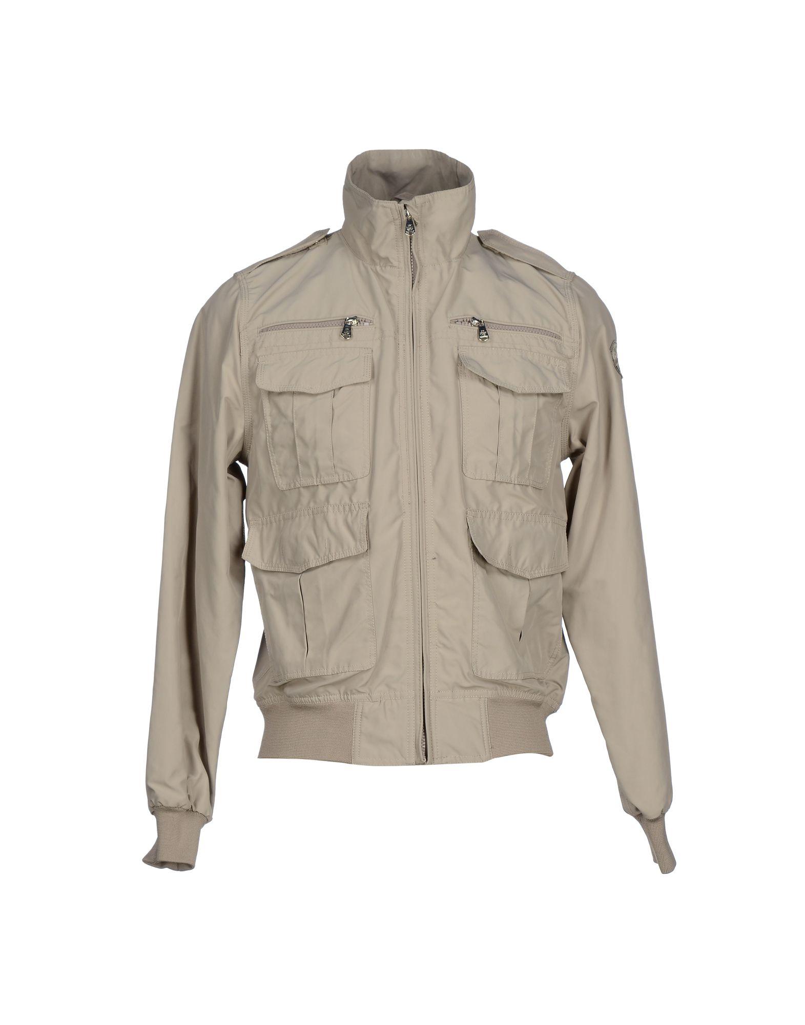 north sails jacket in beige for men grey lyst. Black Bedroom Furniture Sets. Home Design Ideas
