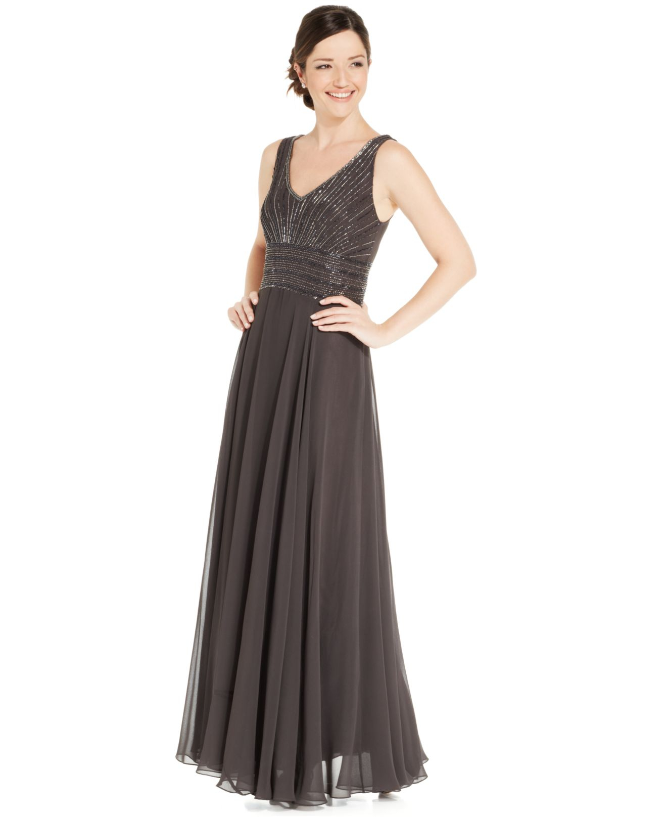 J Kara Plus Size Evening Dresses