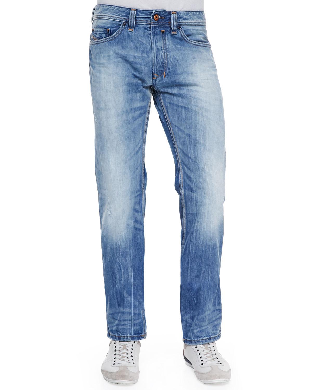 Diesel Safado 816P Faded Jeans in Blue for Men | Lyst