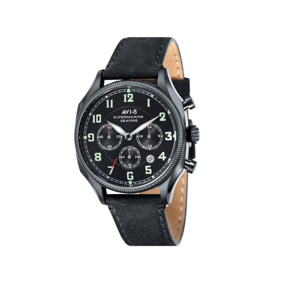 Lyst - Avi-8 Supermarine Seafire Watch in Black for Men