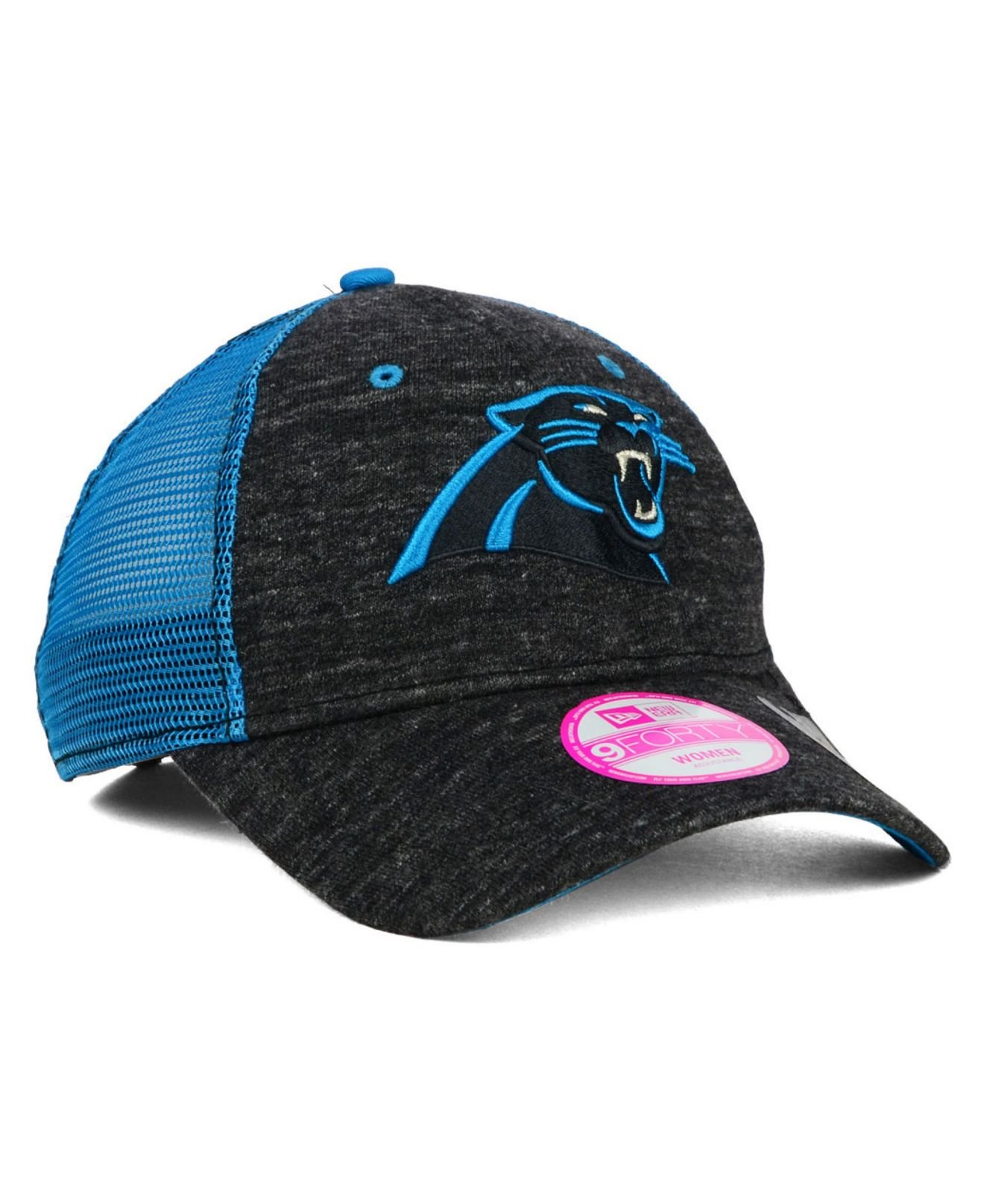 best service 0b56b 3f952 ... discount code for lyst ktz womens carolina panthers tri blend trucker  9forty cap in 52f01 a818d