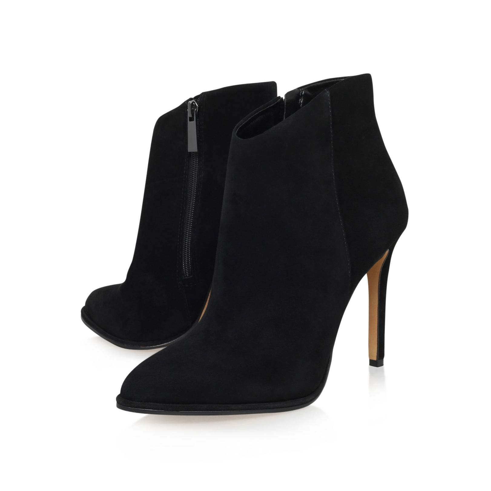 Vince Camuto Lorenza High Heel Ankle Boots In Black Lyst