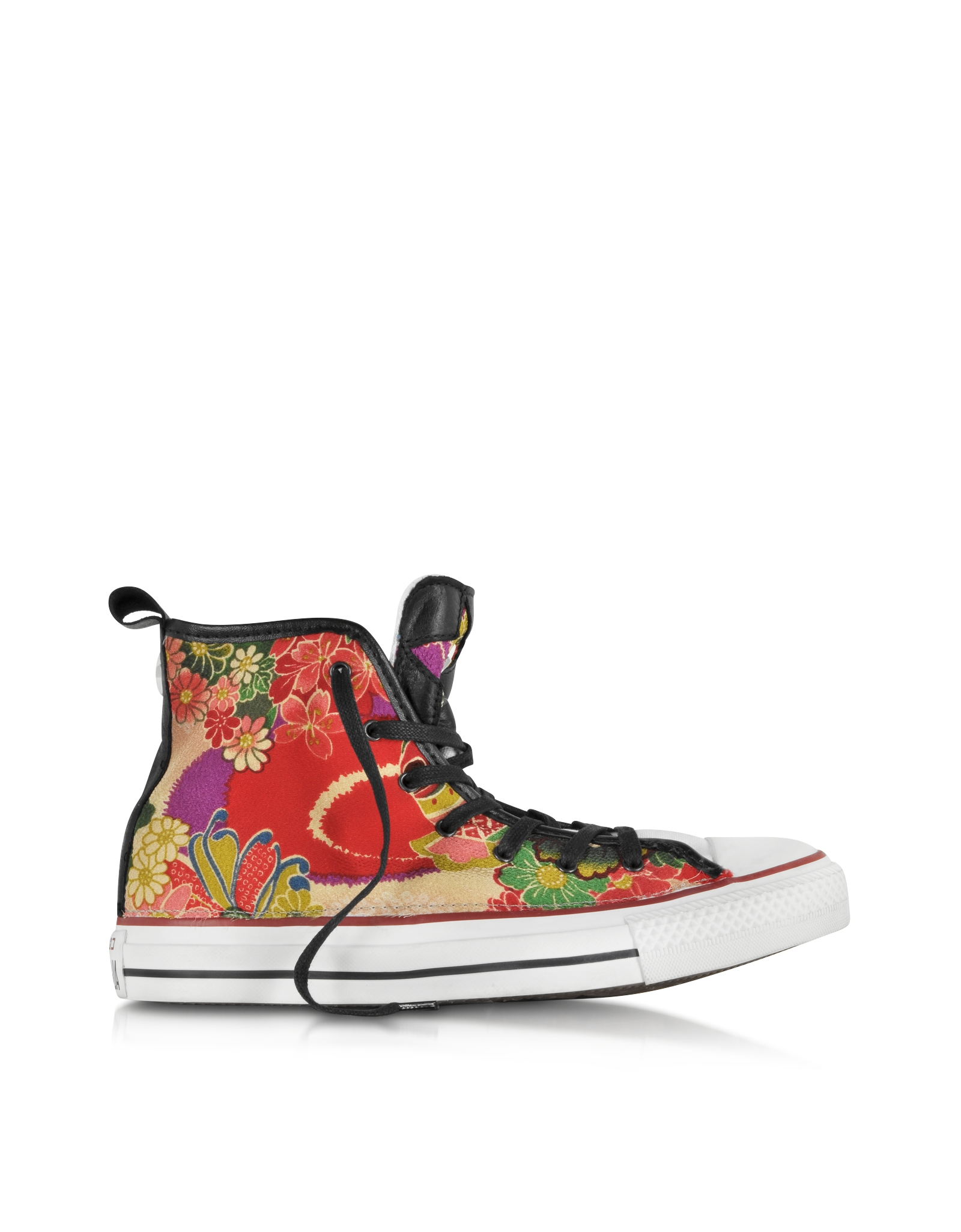 dc6aed7be420 ... sale lyst converse ct all star hi red hanami canvas sneaker in red  57d47 be4f3