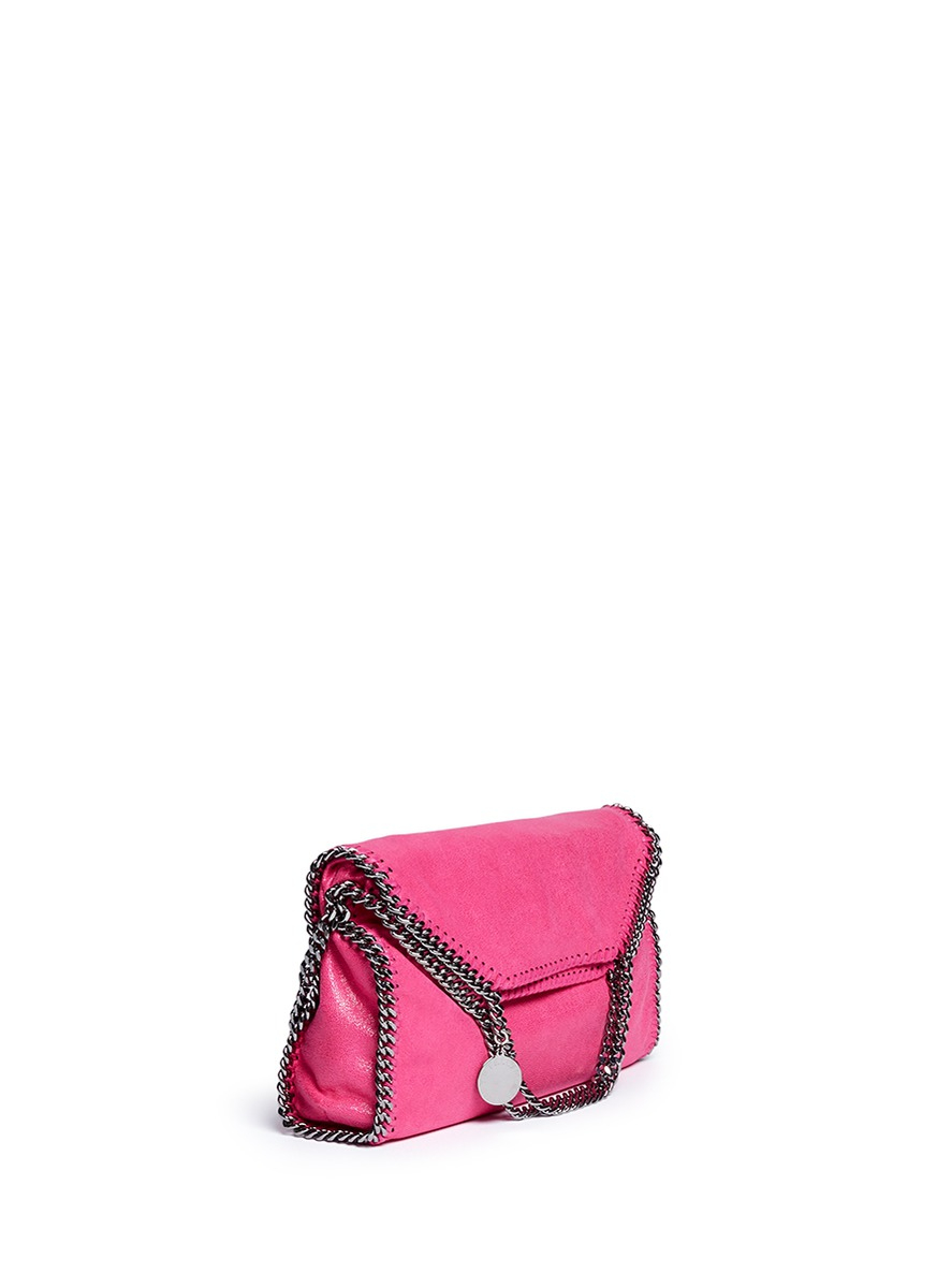 Stella mccartney 'falabella' Two-way Chain Tote in Pink