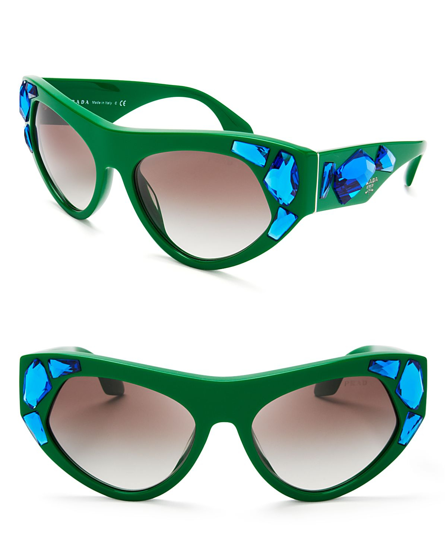 Prada Cat Eye Sunglasses Mm