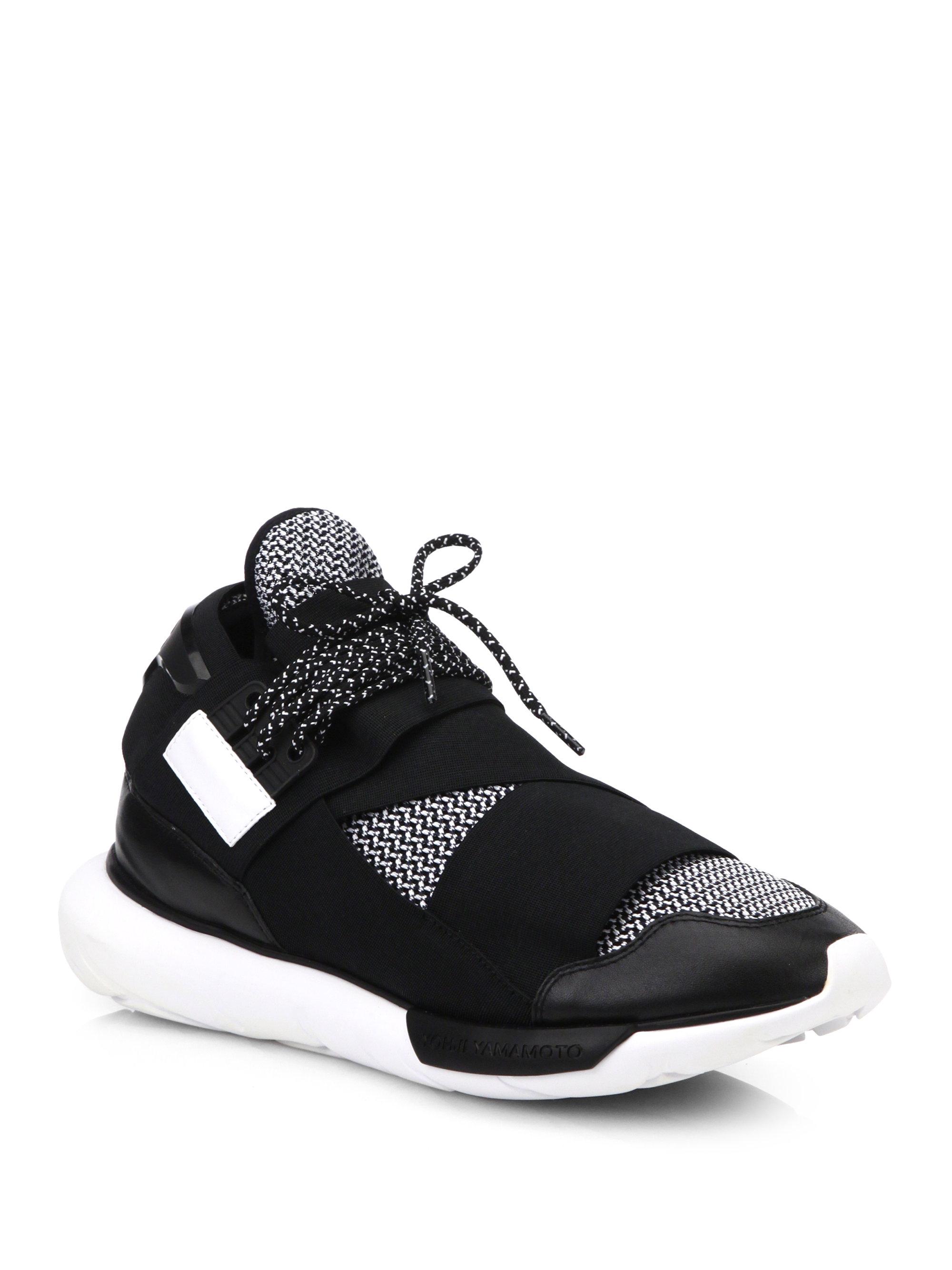 6b16027f5 Lyst - Y-3 Yohji Boost Sneakers in Black for Men