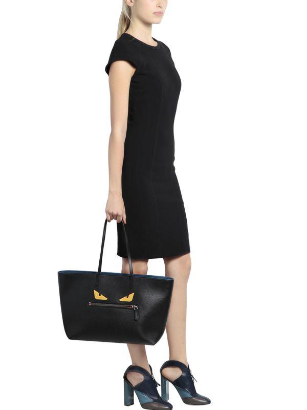fendi fendi bag bugs leather roll bag factory price 2e0f9 69762 ... 912f0e0c3769b