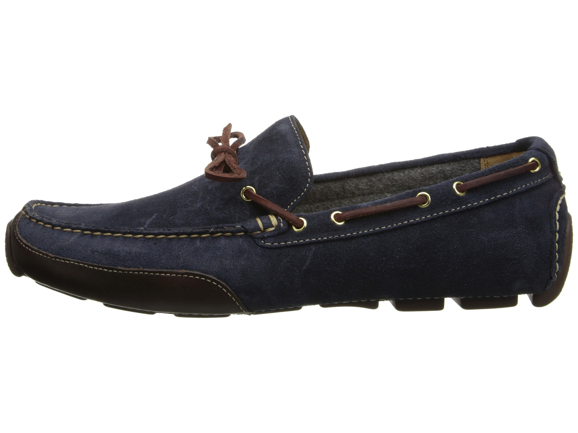 aab4800dbbe Lyst - Cole Haan Motogrand Camp Moc in Blue for Men