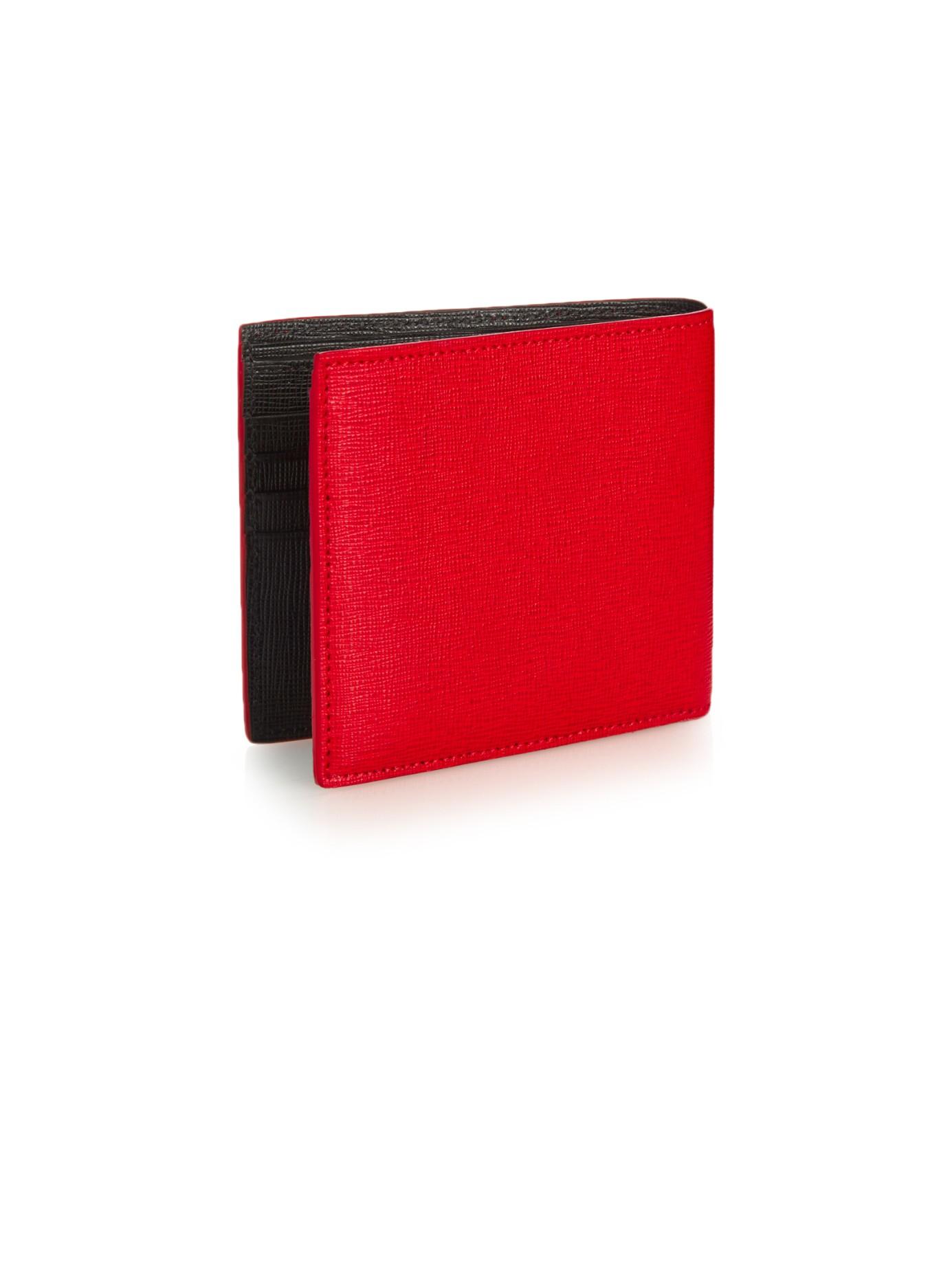 d56781d3deb5 ... low price fendi wallet blue bunny red lyst fendi bag bugs leather bi  fold wallet af19f