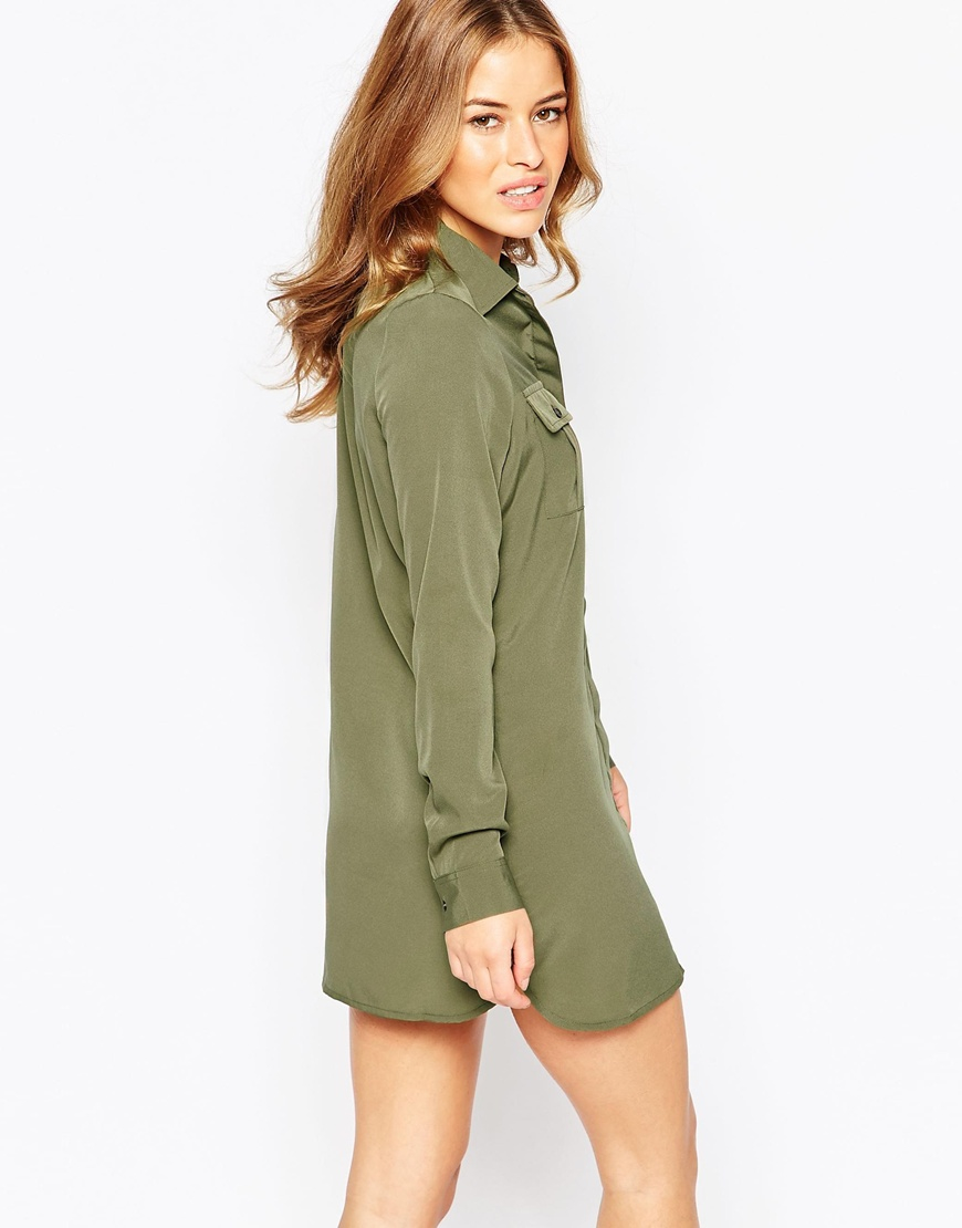Lace Sleeve Shirt - Khaki Vero Moda Outlet Best Wholesale Buy Cheap Clearance Buy Cheap Shop For Outlet Official Site Discount For Sale 6uE17GPhkq