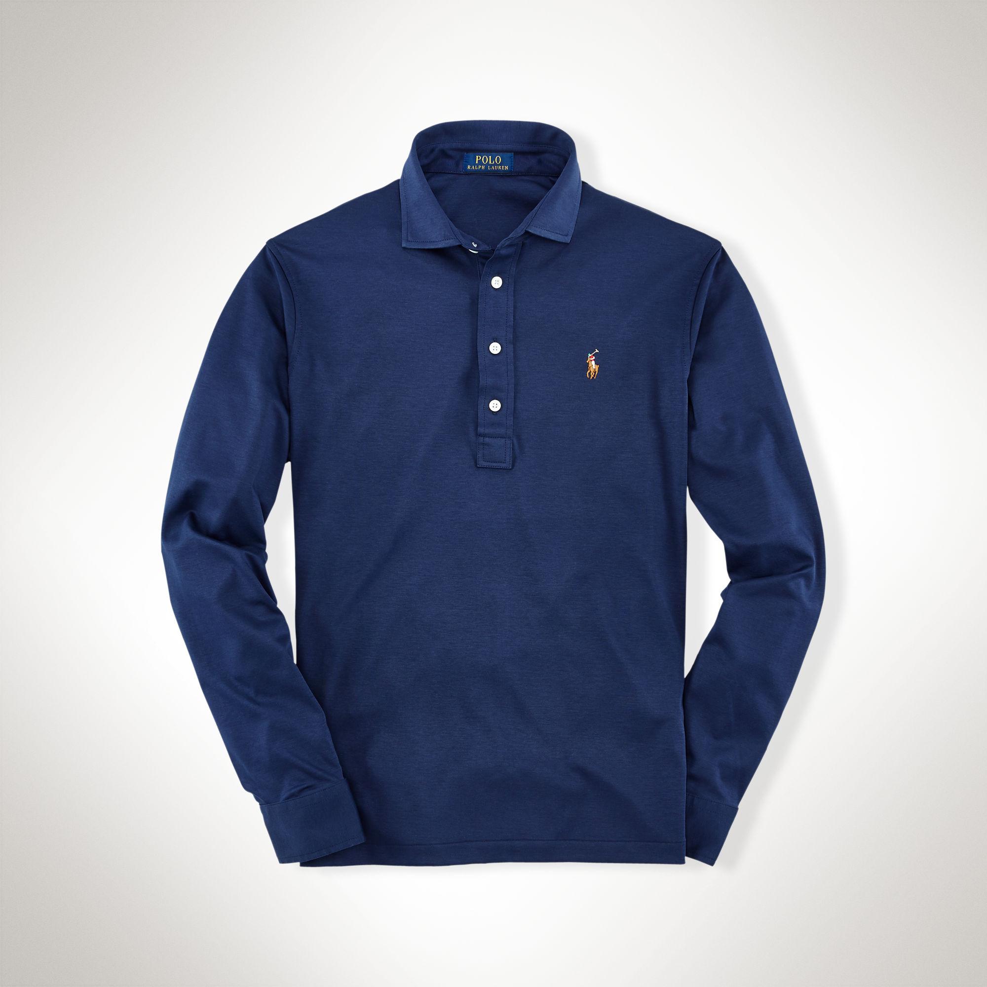 Cheap Buy Navy Blue Ralph Lauren Shirt A7cae 36b9e