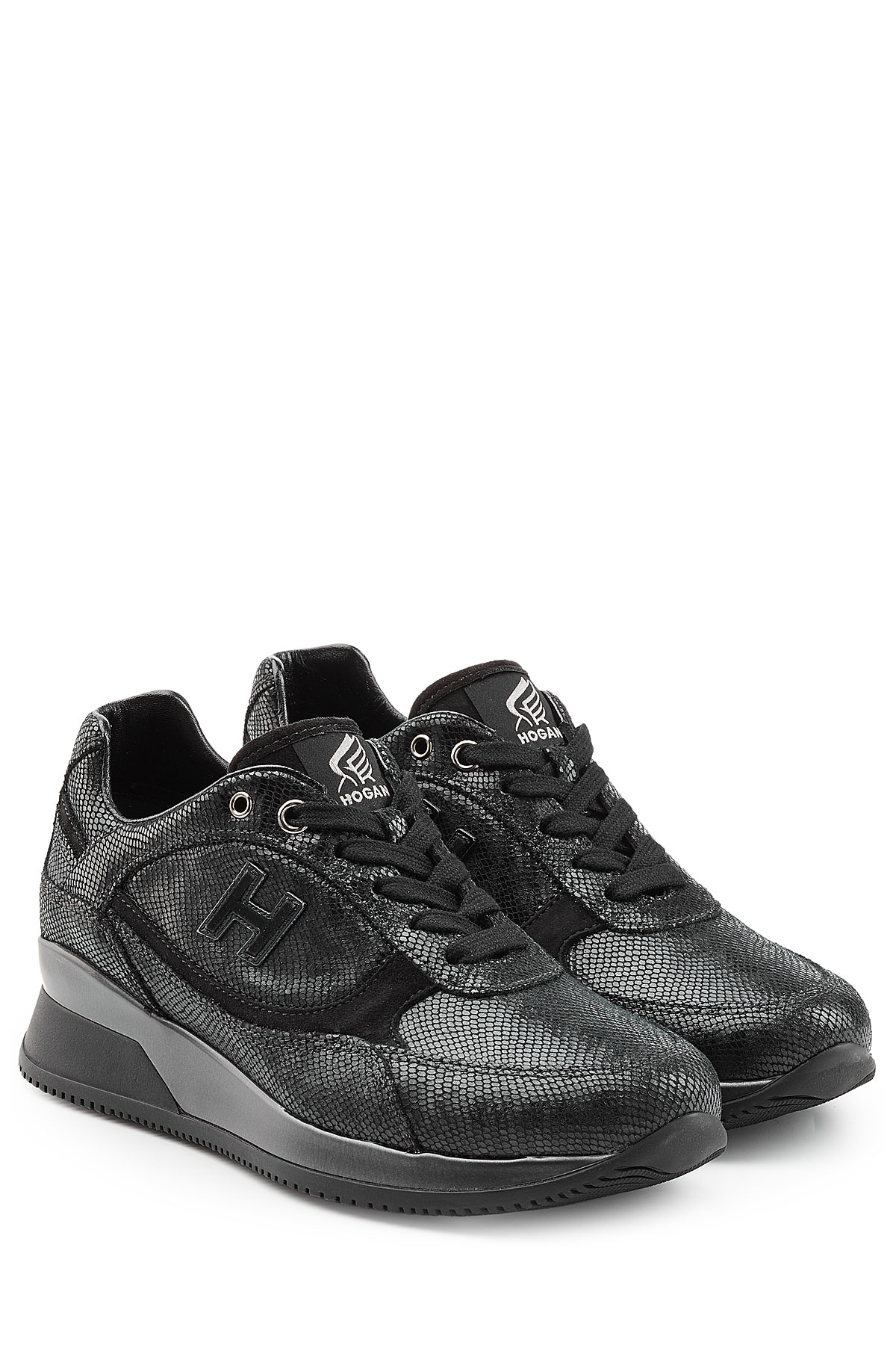 Hogan Embossed Leather Sneakers amazon cheap online cheap sale from china best sale cheap price collections cheap online oJTzAA