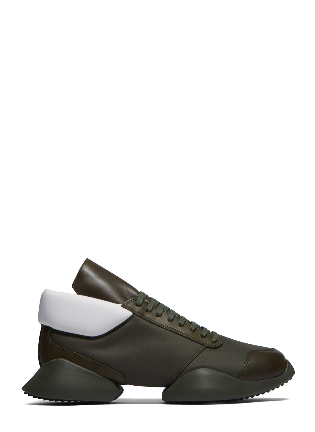 rick owens adidas by ro runner sneakers in brown for