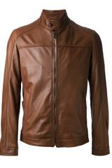 Boss by Hugo Boss Niwen Leather Jacket