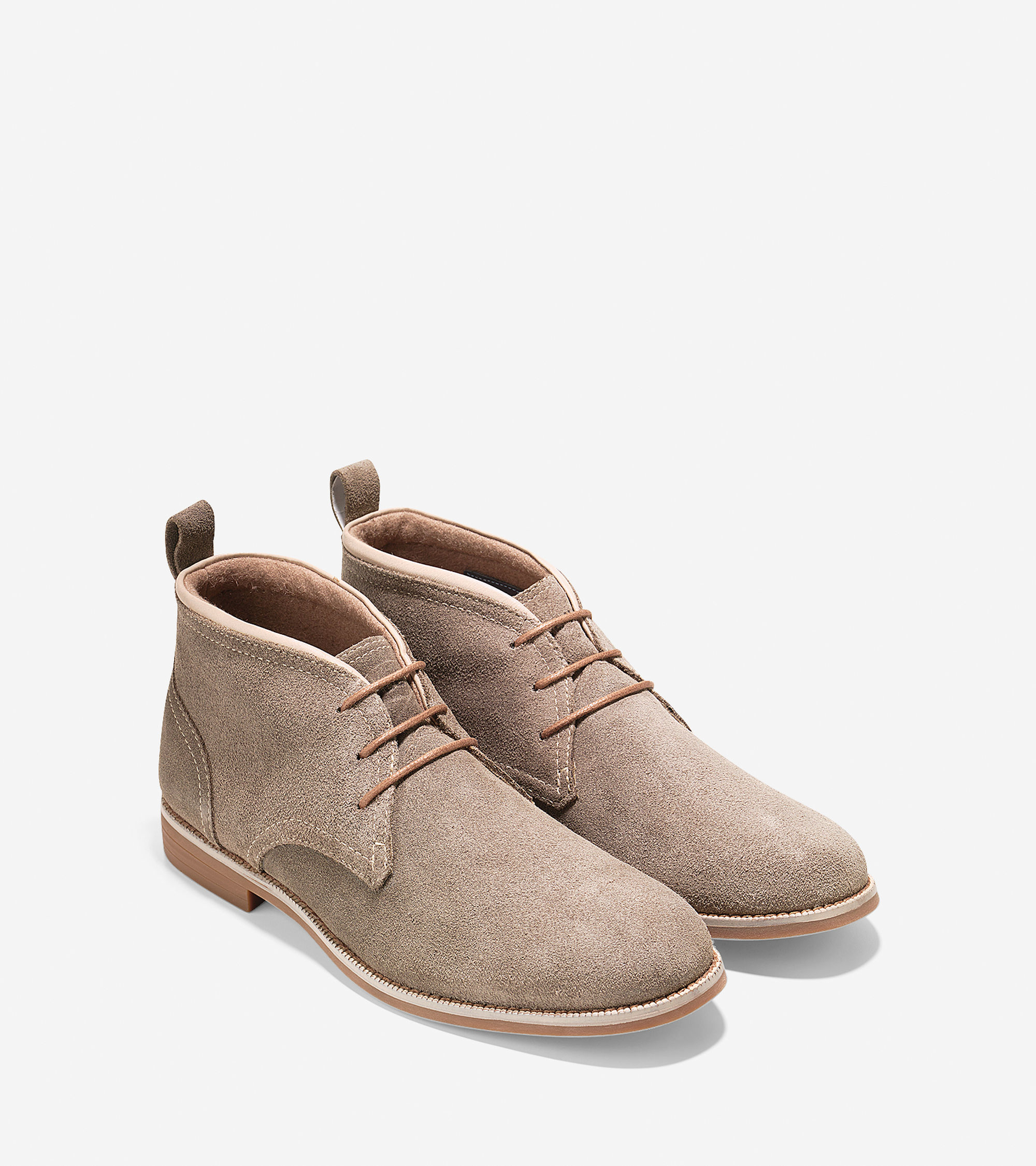Cole haan Curtis Waterproof Chukka in Natural for Men | Lyst