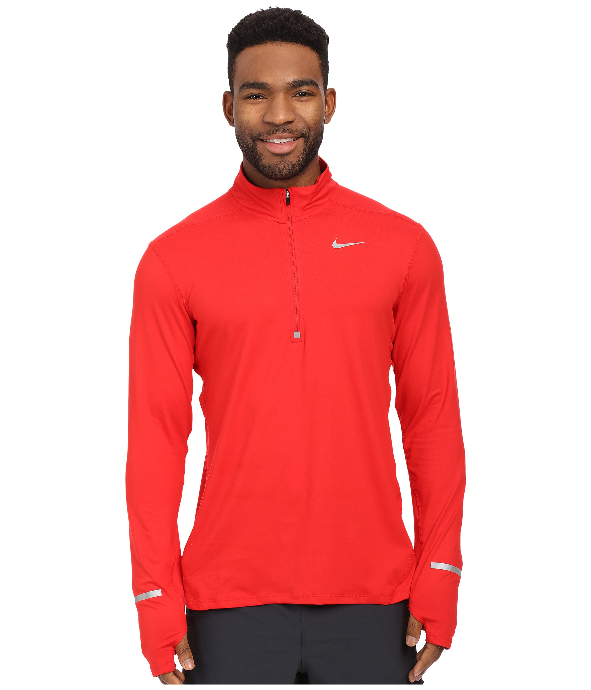 Nike Dri-fit™ Element Half-zip Pullover in Red for Men | Lyst