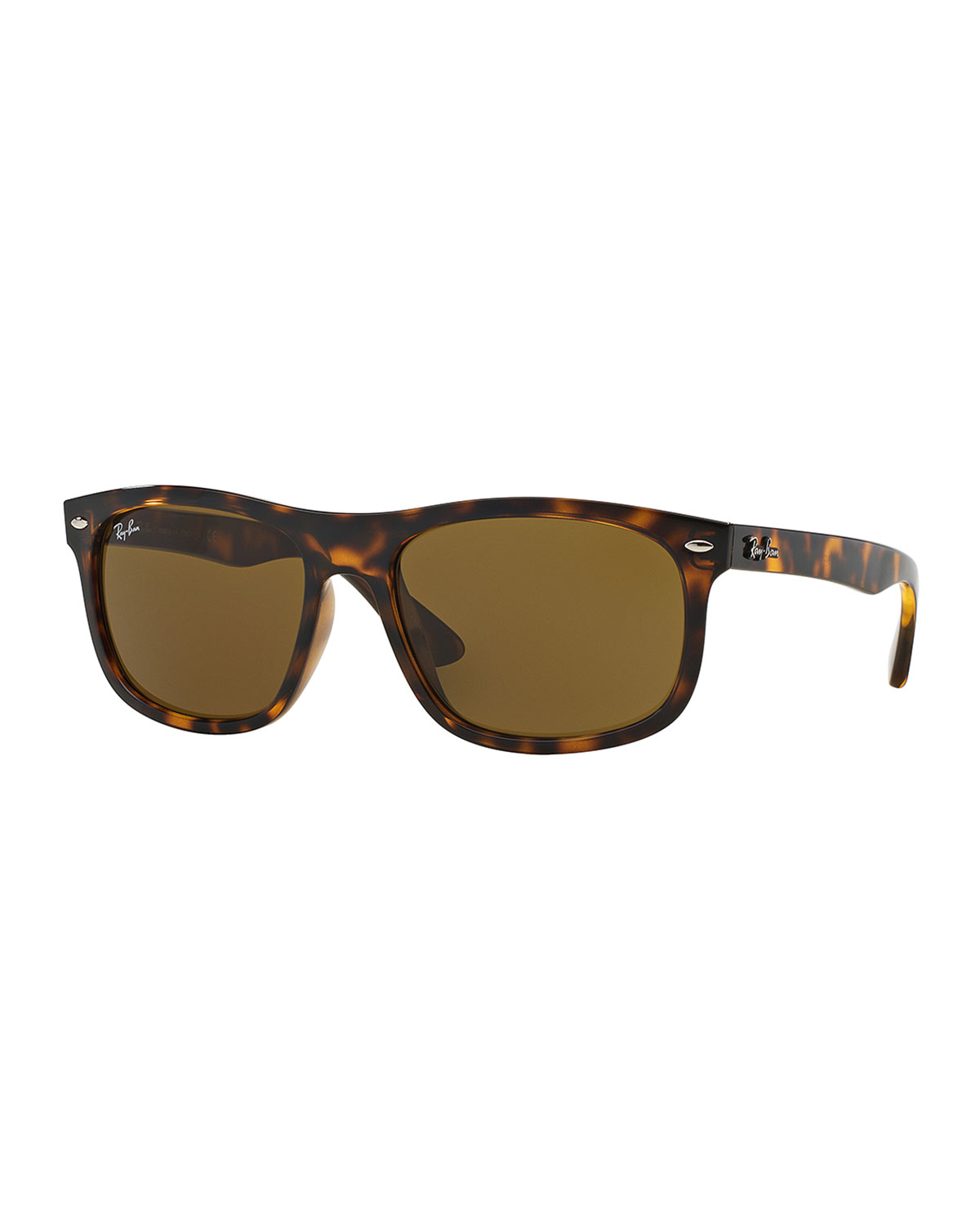 lyst ray ban new wayfarer classic sunglasses in brown for men. Black Bedroom Furniture Sets. Home Design Ideas