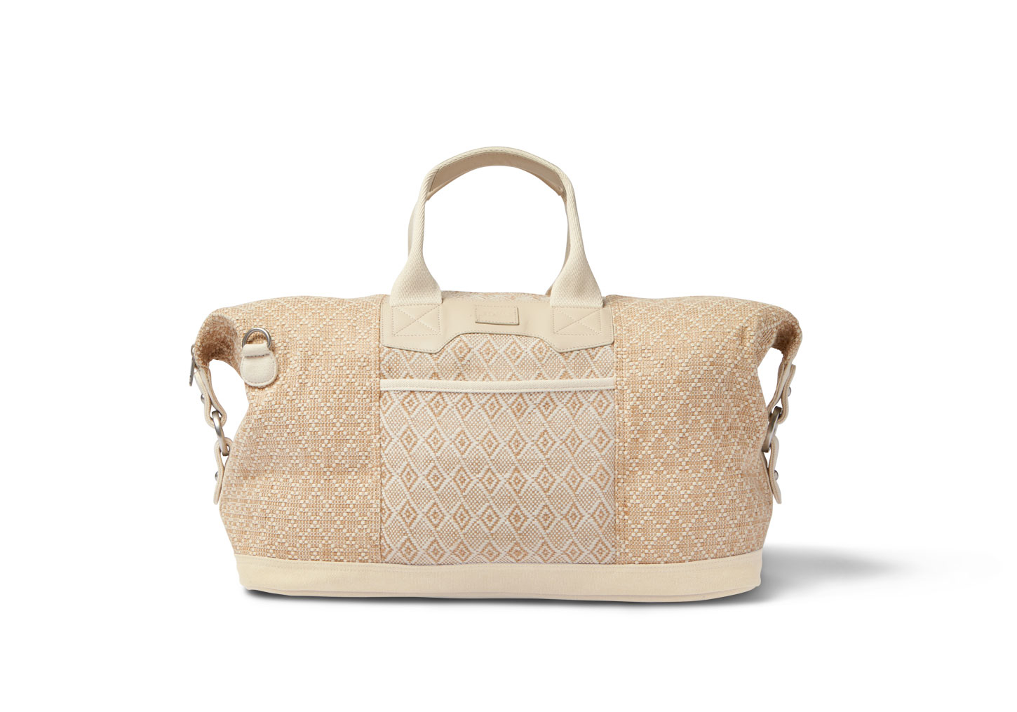 toms woven mix traveler weekender in for