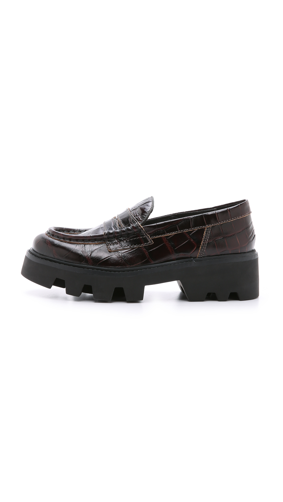 50a2ee4dbb5 Lyst - Ash Serum Loafers - Tmoro in Gray