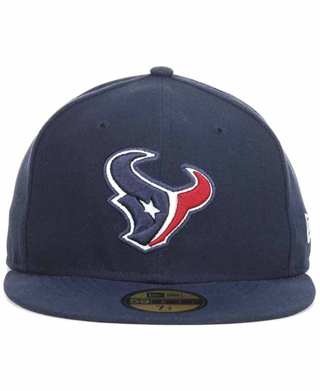 038f785d019 Lyst - Ktz Houston Texans On Field 59fifty Cap in Blue for Men