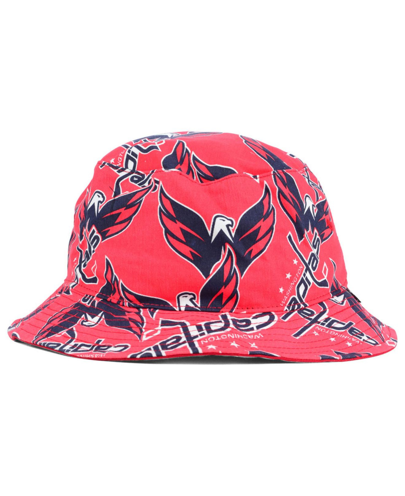718892a6c ... new concept fd261 75bec Lyst - 47 Brand Washington Capitals Bucket Hat  in Pink ...