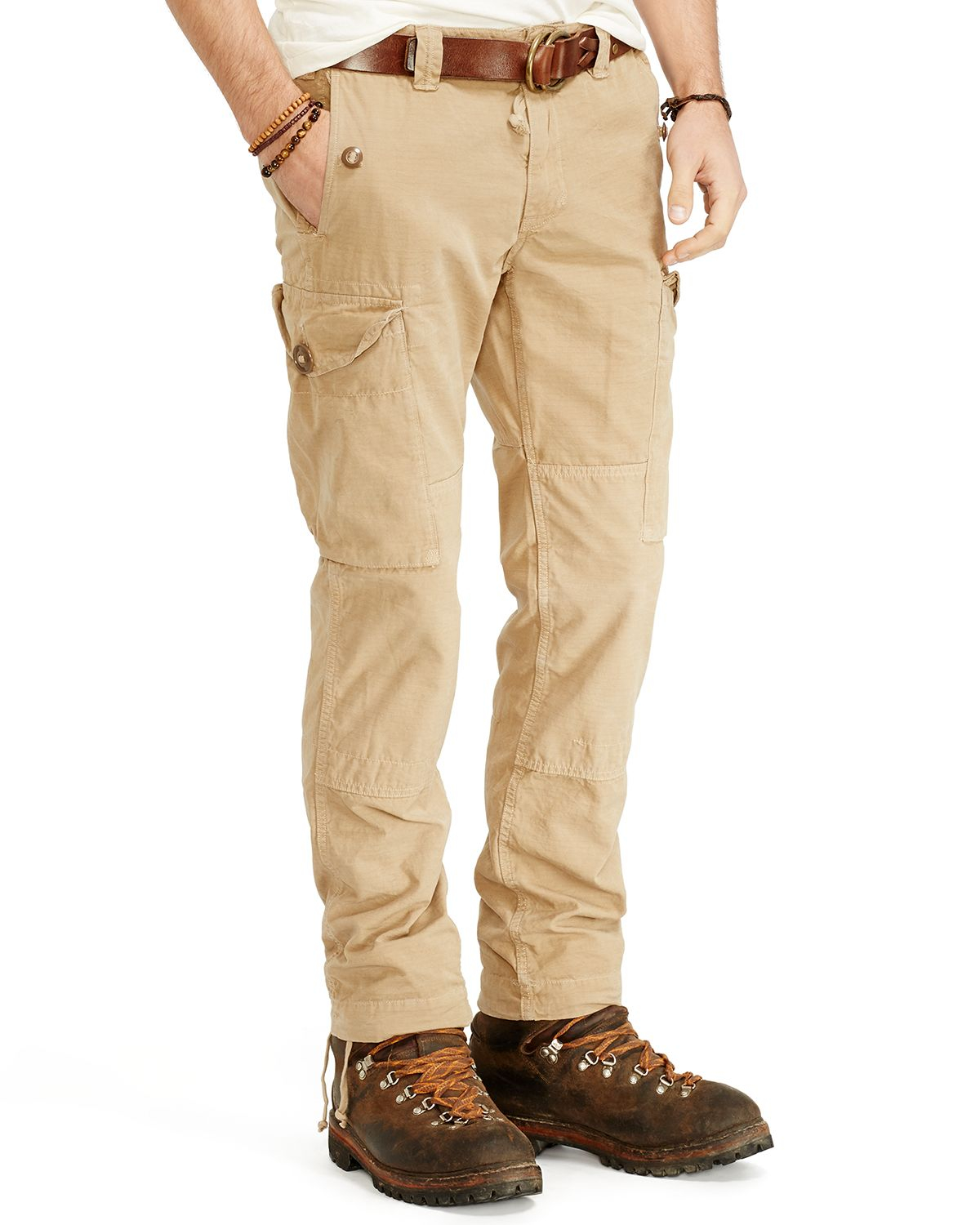 Ralph lauren Polo Montauk Ripstop Cargo Pants - Straight Fit in ...