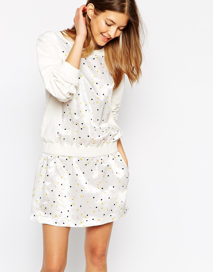 e578cea93c See By Chloé Dress In Cornetto Print - Lyst