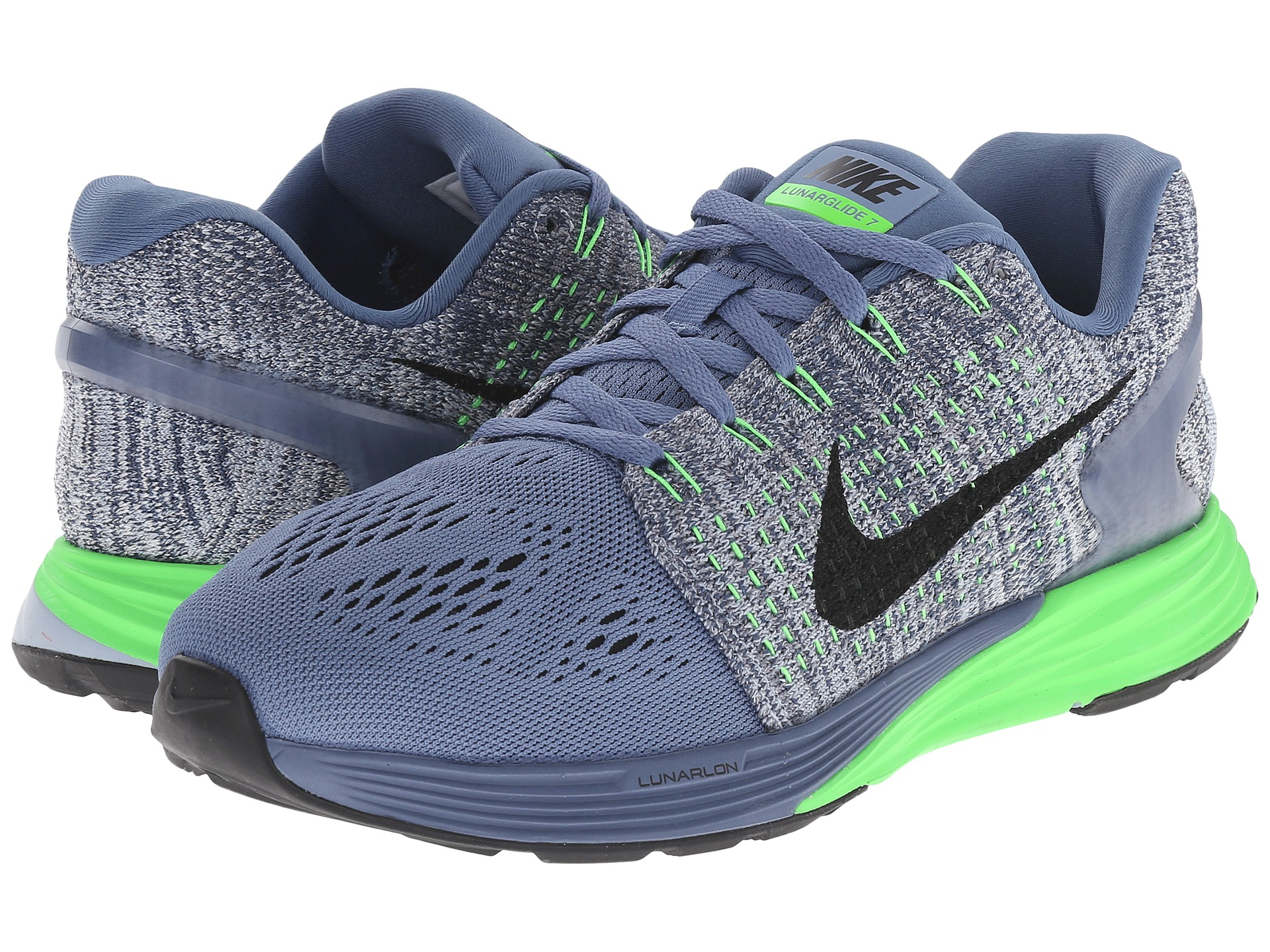 cheap for discount 2eb8e fe6be Nike Lunarglide 7 in Blue - Lyst