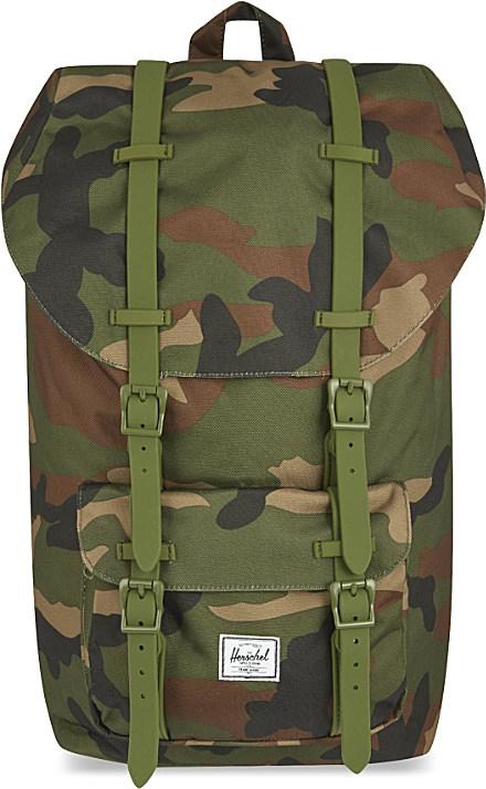 a8283867348 Herschel Supply Co. Little America Backpack in Green for Men - Lyst