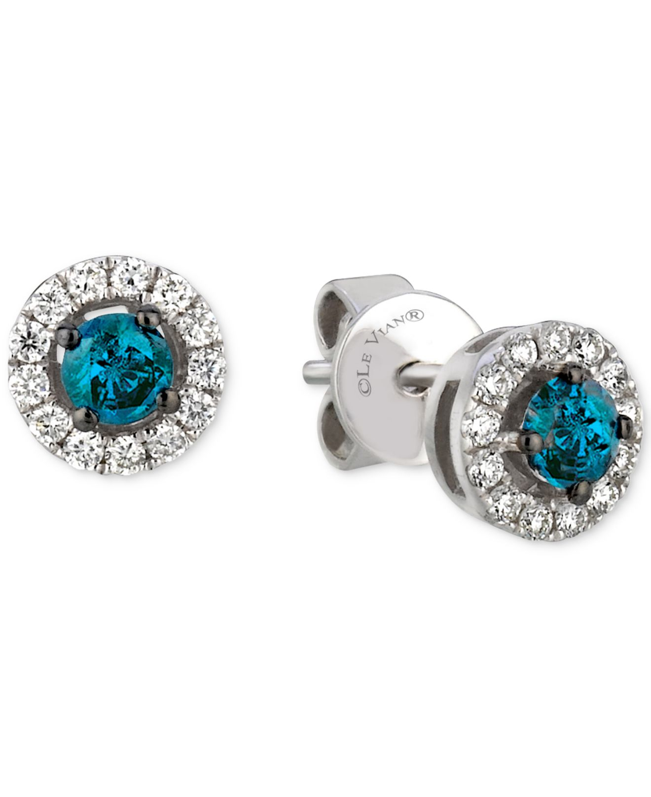 of white aquamarine with attachment stud diamond and new chocolate ring earrings gold awesome rings