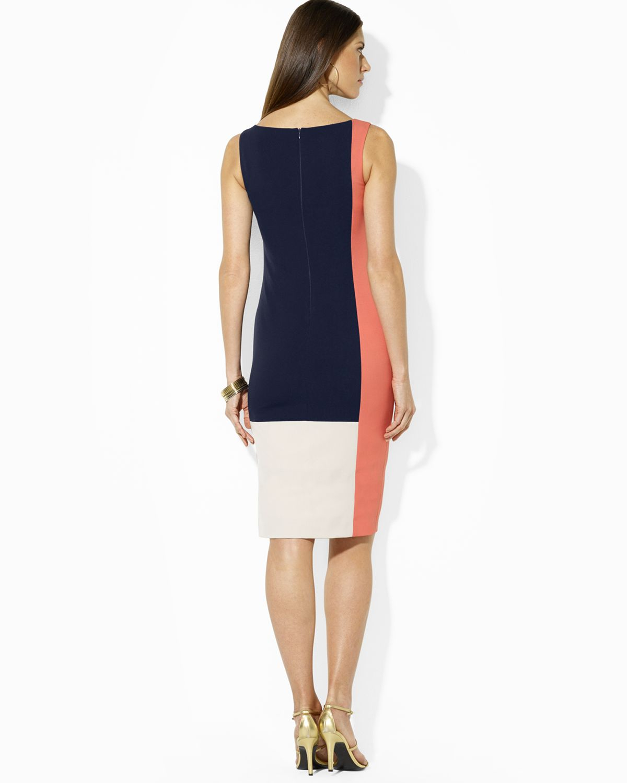 Ralph Lauren Colorblock Dress