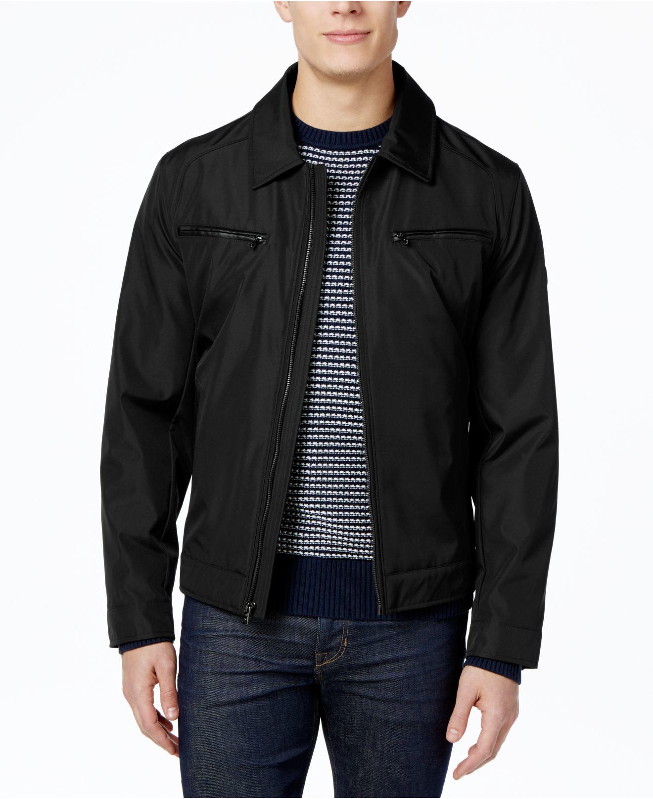 michael kors michael men 39 s hipster jacket in black for men. Black Bedroom Furniture Sets. Home Design Ideas