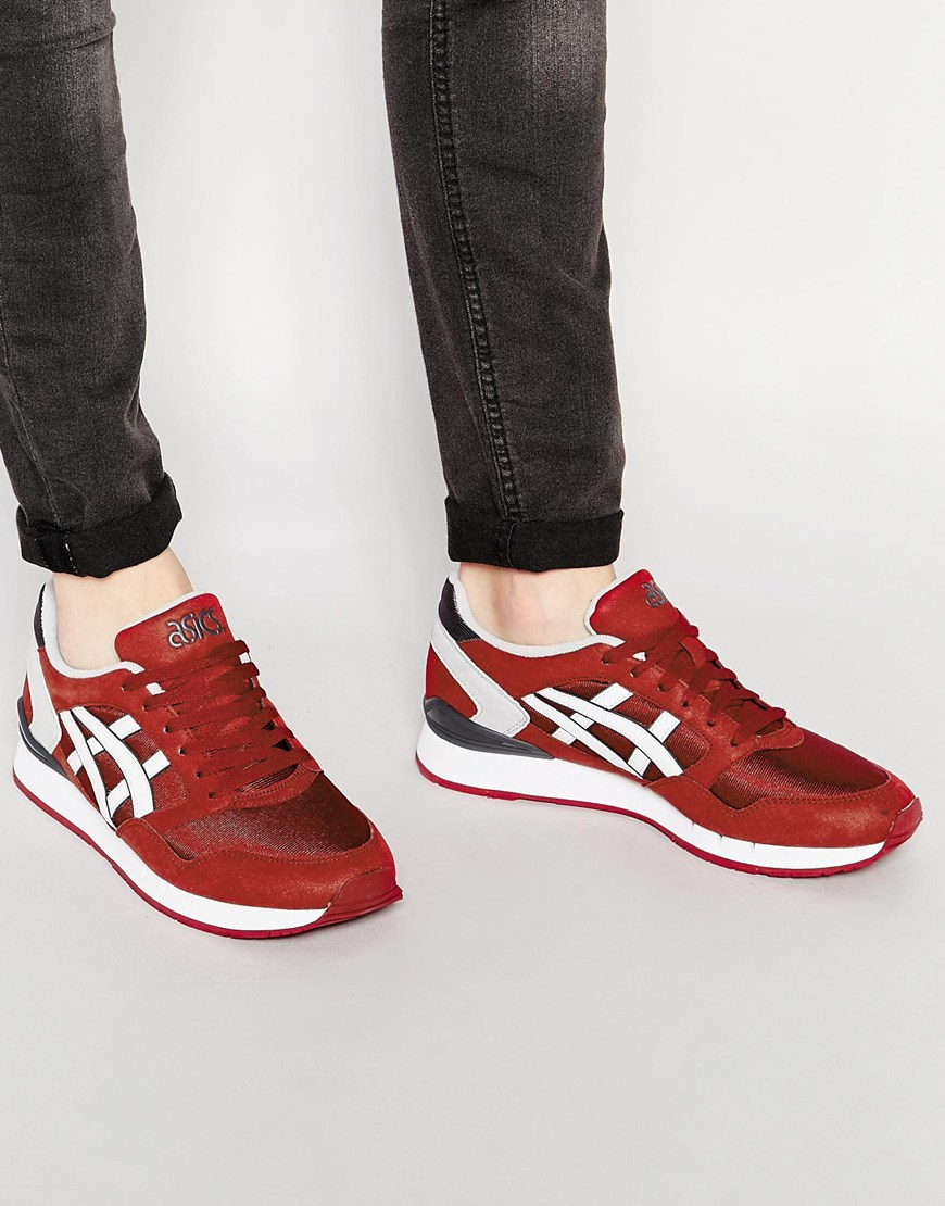 ASICS Women's Gel-Atlanis - Red - Trainers
