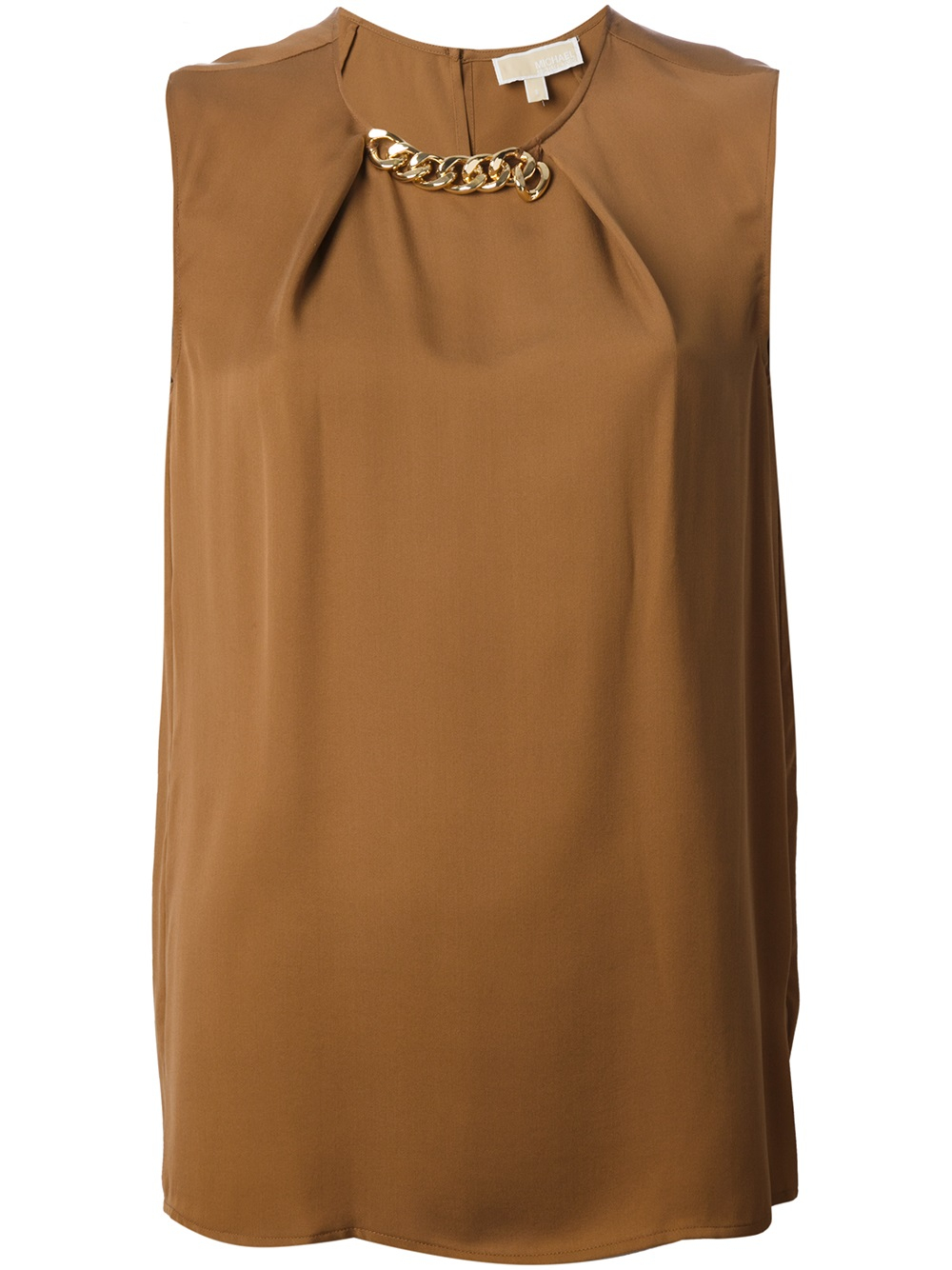 Ziza Chain Detail Sleeveless Blouse 26