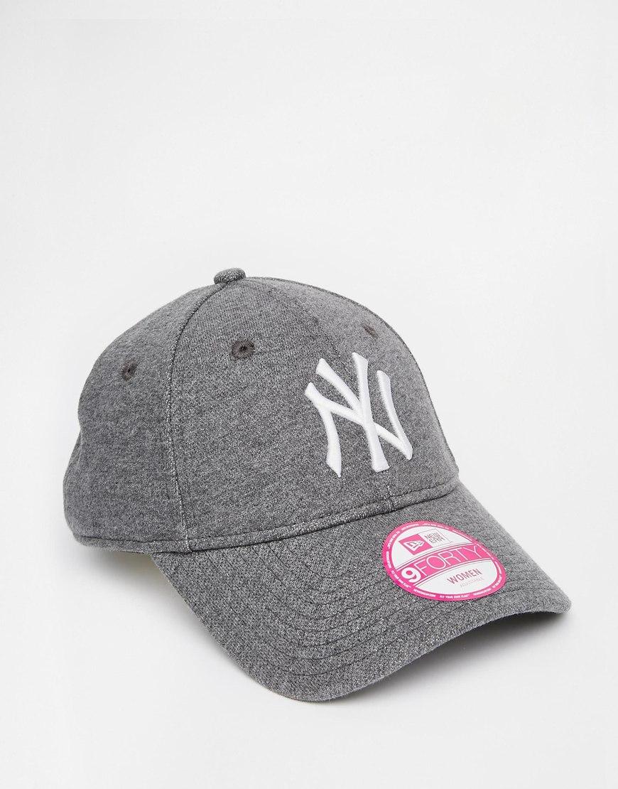 New York Yankees Cap Grey