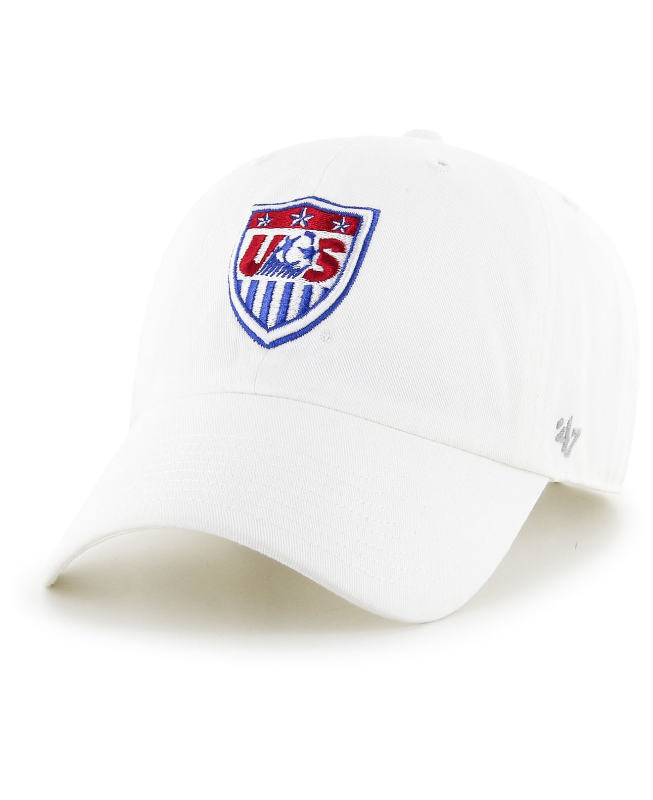7535991f24a Lyst - 47 Brand Usa Soccer Clean Up Cap in White for Men