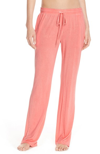 Daniel Buchler Washed Jersey Lounge Pants In Natural Lyst