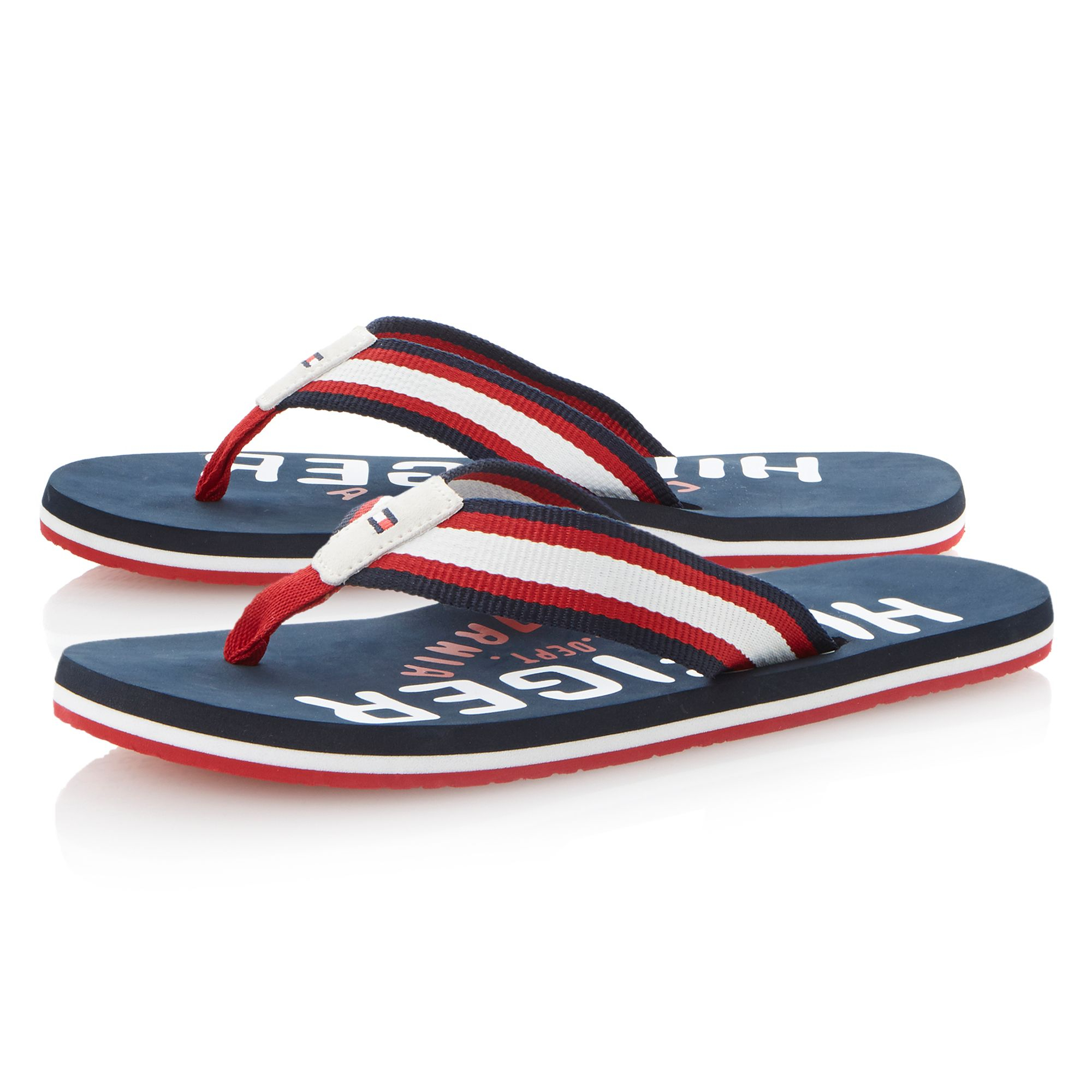 men 39 s tommy hilfiger flip flops maskbook. Black Bedroom Furniture Sets. Home Design Ideas
