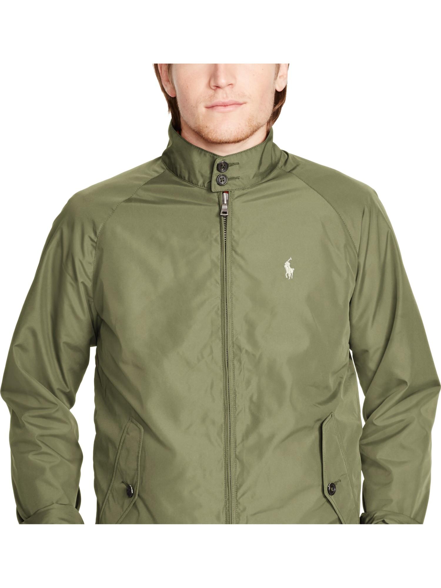 Polo Ralph Lauren Chester Light Jacket In Green For Men Lyst