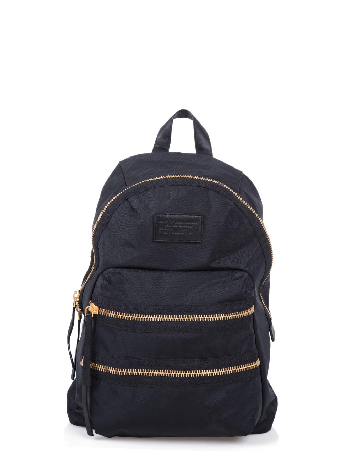 marc by marc jacobs nylon backpack in black for men lyst. Black Bedroom Furniture Sets. Home Design Ideas