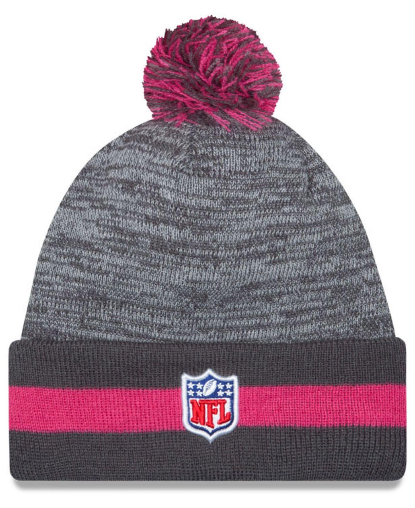 more photos b91f0 b9c7b KTZ Baltimore Ravens Breast Cancer Awareness Sport Knit Hat ...