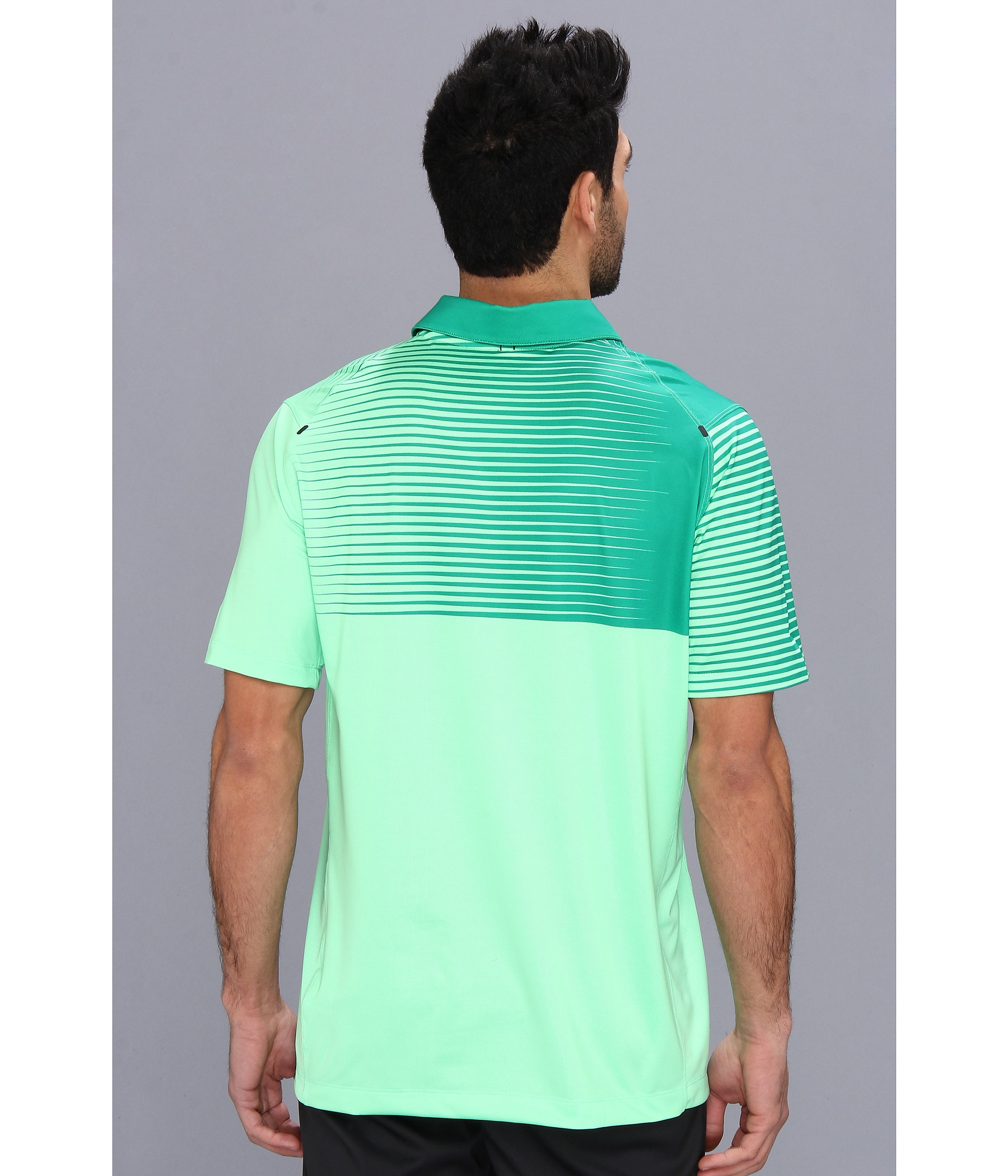 c13afb87 Nike Innovation Gradient Polo in Green for Men - Lyst