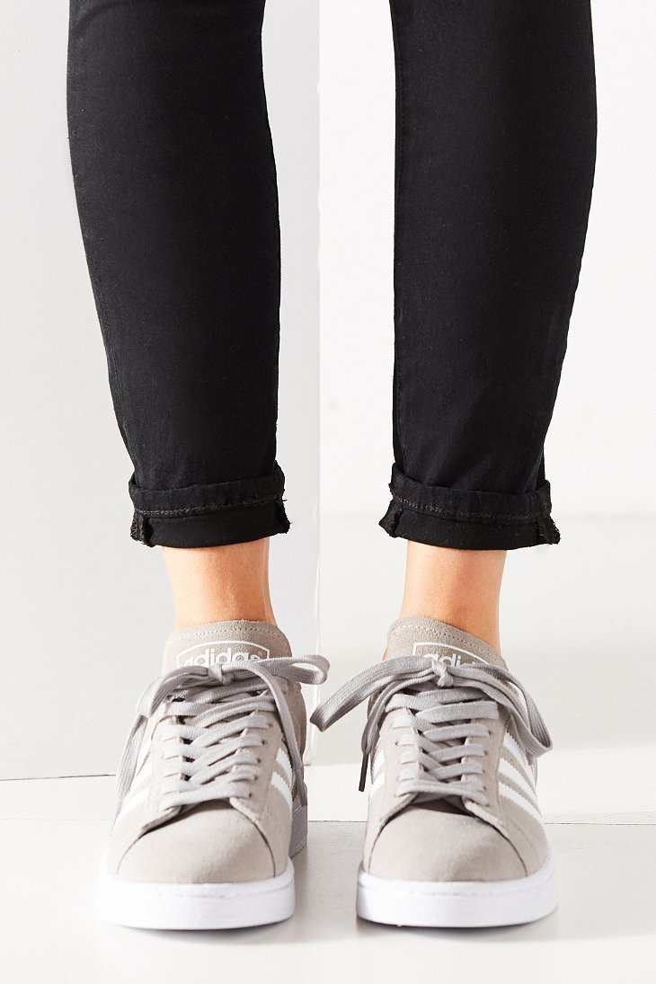 women adidas campus grey
