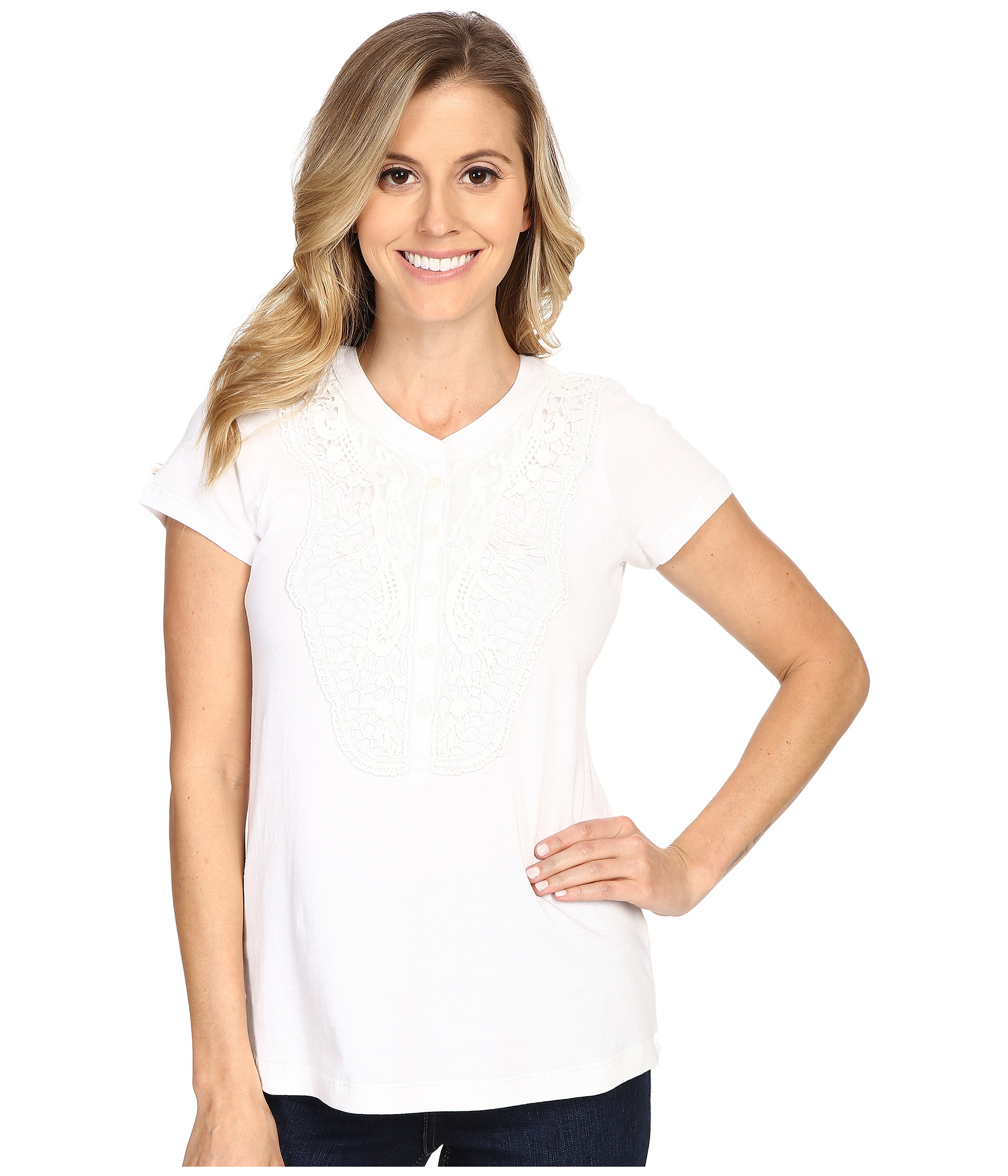aventura clothing lulu top in white lyst