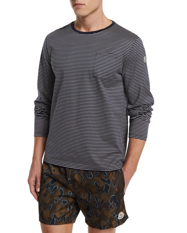 moncler striped sweatshirt jacket