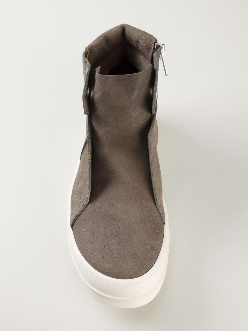 Rick OwensIsland Dunk High-Top Sneakers qfyRD