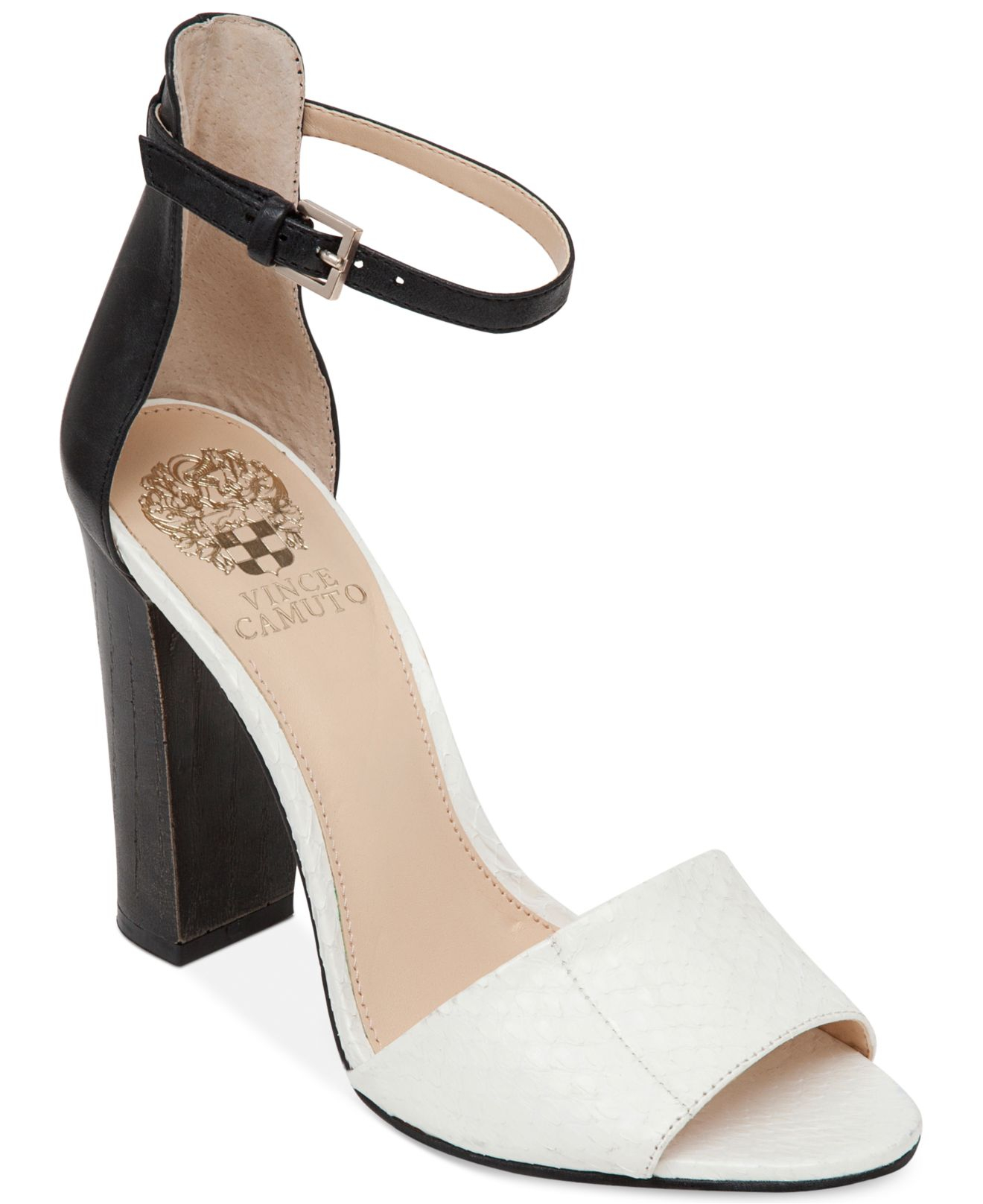 Vince Camuto Velenza Block Heel Ankle Strap Dress Sandals